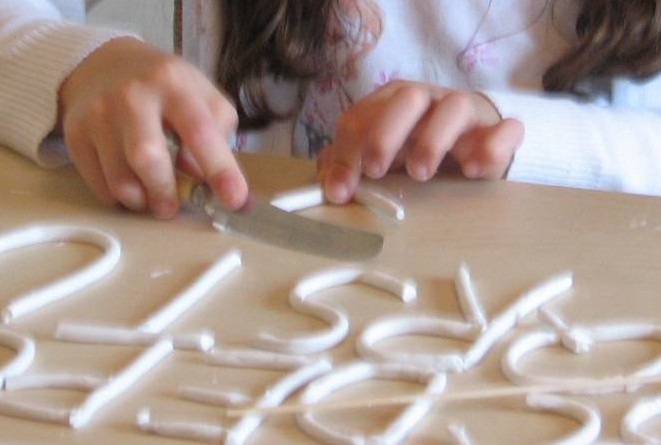 clay alphabet