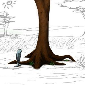 fish don't climb trees logo